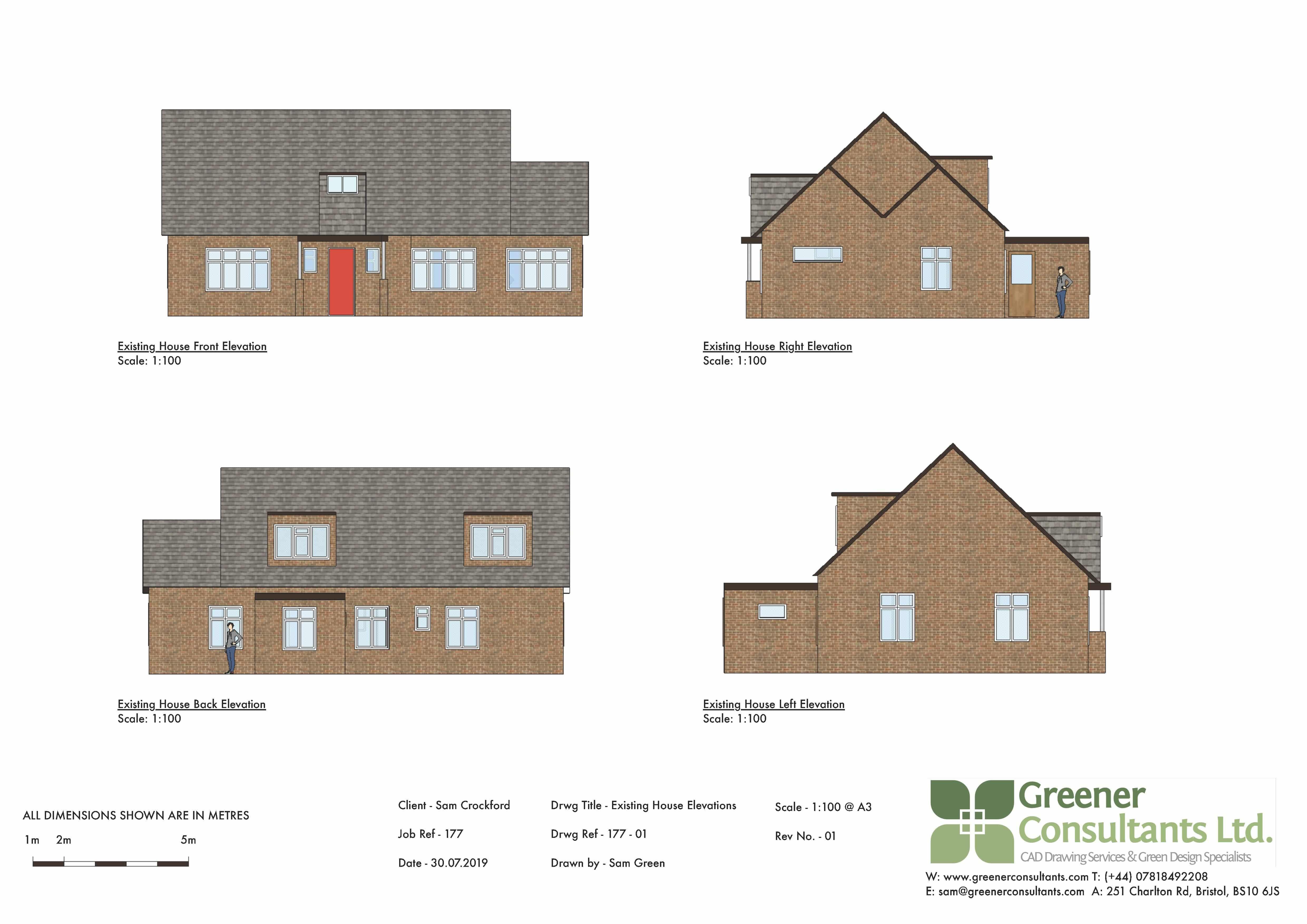 bristol elevations, extensions, buckinghamshire, floor plans