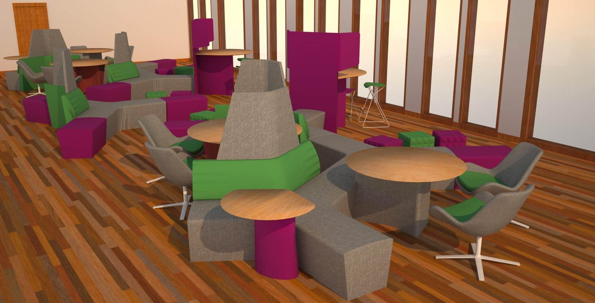 cnm bristol interior design 3d visualisations