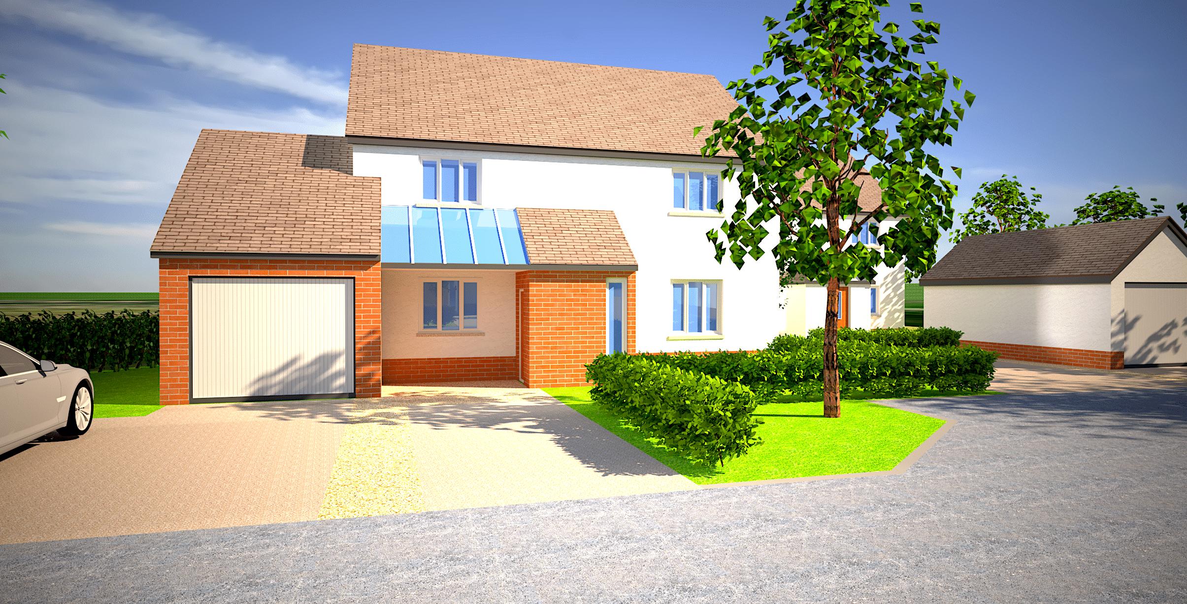 ebbw vale housing development 3d visualisations